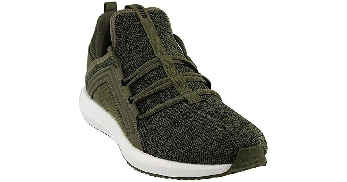 Lyst - PUMA Mega Nrgy Knit Sneaker in Black for Men 5d2f3e73e