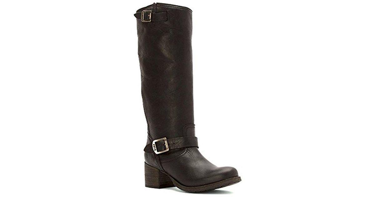 7a29156235e3 Lyst - Frye Vera Slouch-wshovn Boot in Black