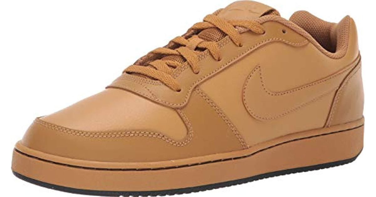 nouveau concept 9de70 f81d0 Nike Natural Ebernon Low Basketball Shoes, Beige Wheat/black 700, 6 Uk for  men