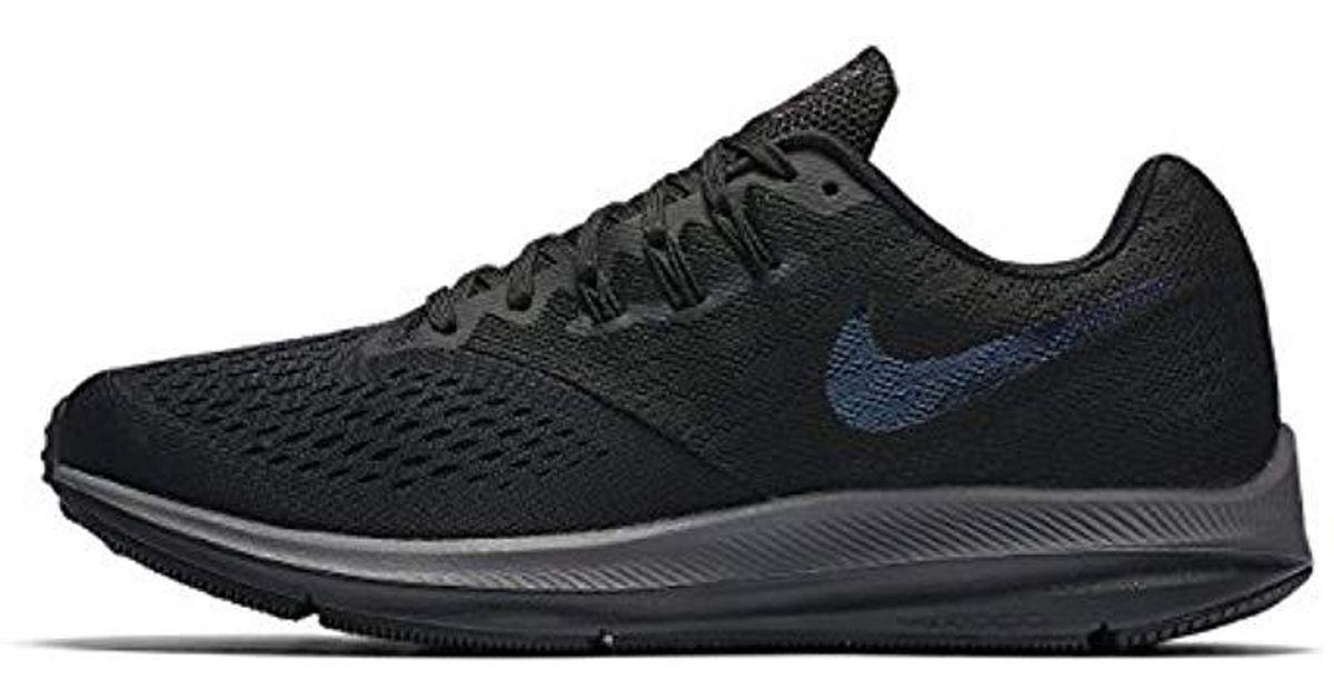 da6372d64b9ab Nike   s Zoom Winflo 4 Running Shoes in Gray for Men - Lyst