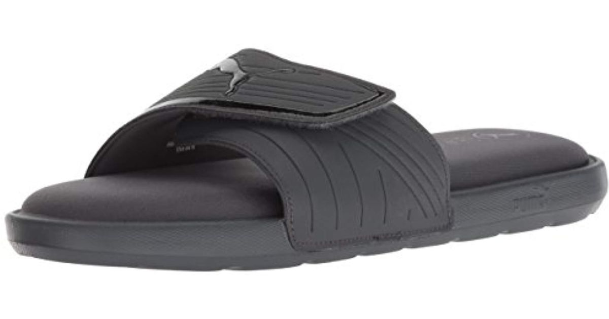 54ec58ac3031d Lyst - PUMA Starcat Sfoam Slide Sandal in Black for Men