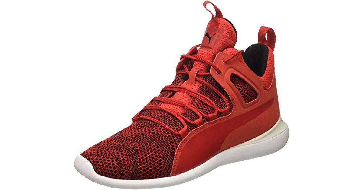 PUMA Sf Evo Cat Mid Sneaker in Red for
