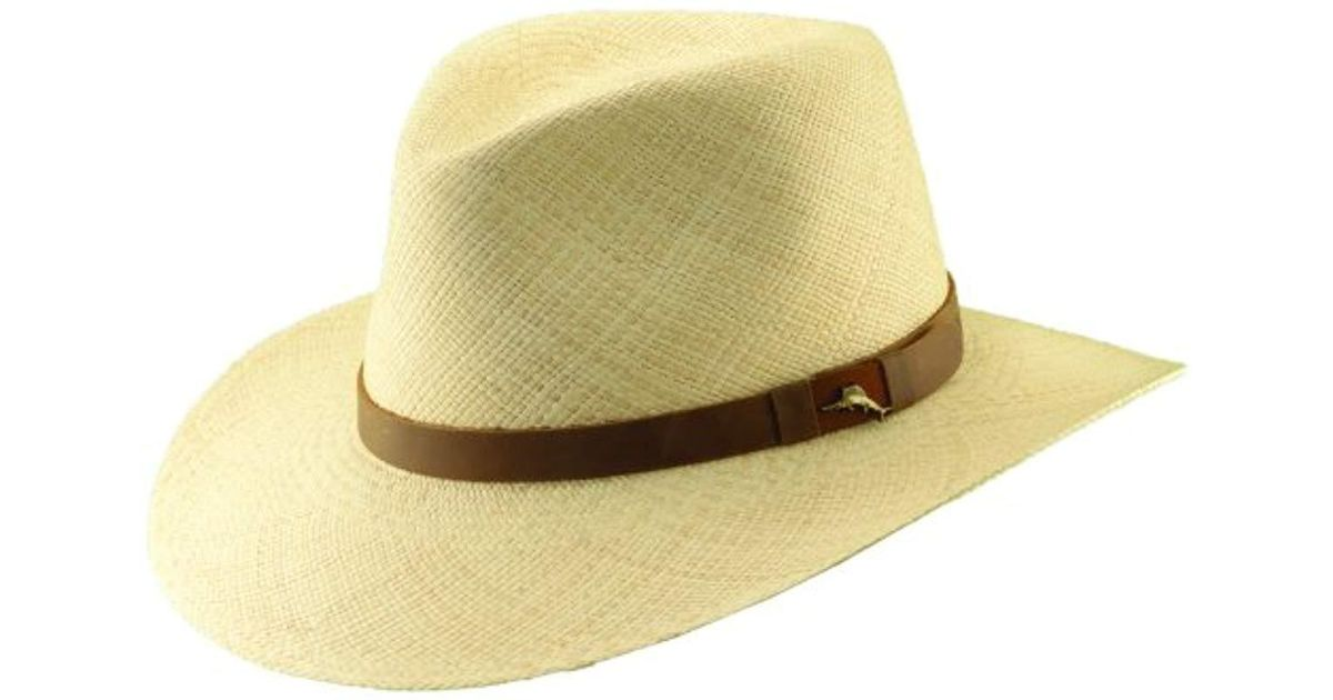 f3d19048305 Lyst Tommy Bahama Panama Outback Hat In Natural For Men Save
