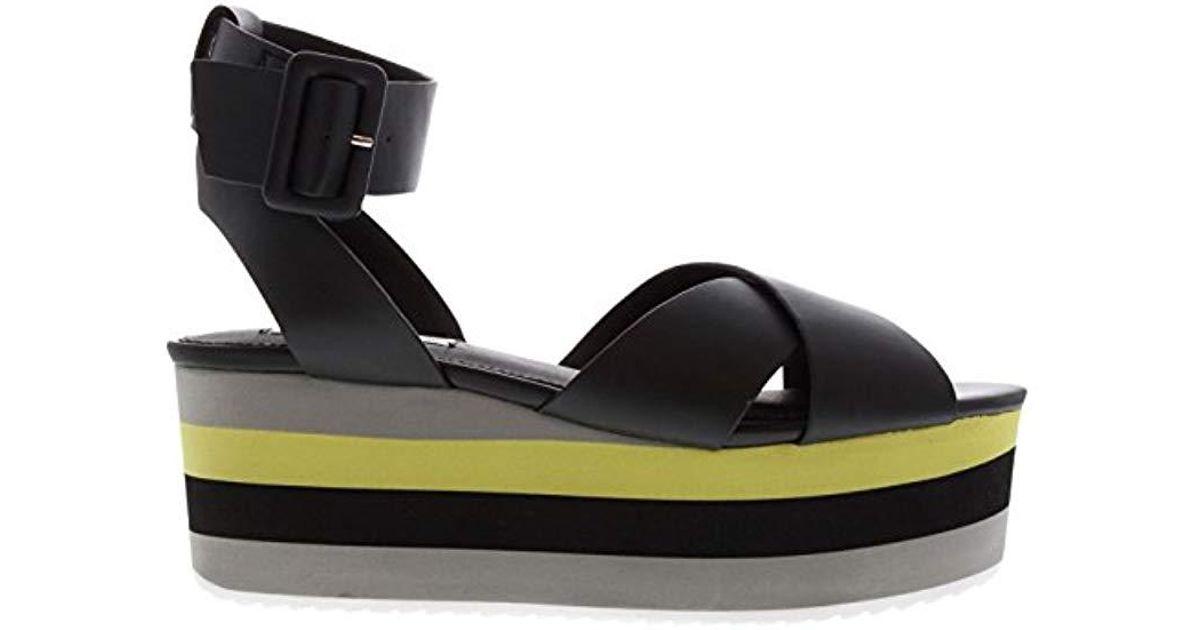 Womens Steve Madden Breena Platform Sandals Stiletto Heels Buckle Fastening New