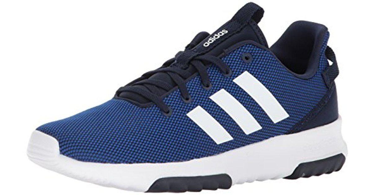 Adidas Blue Cf Racer Tr, Collegiate Royal/white/collegiate Navy, 12.5 M Us  for men