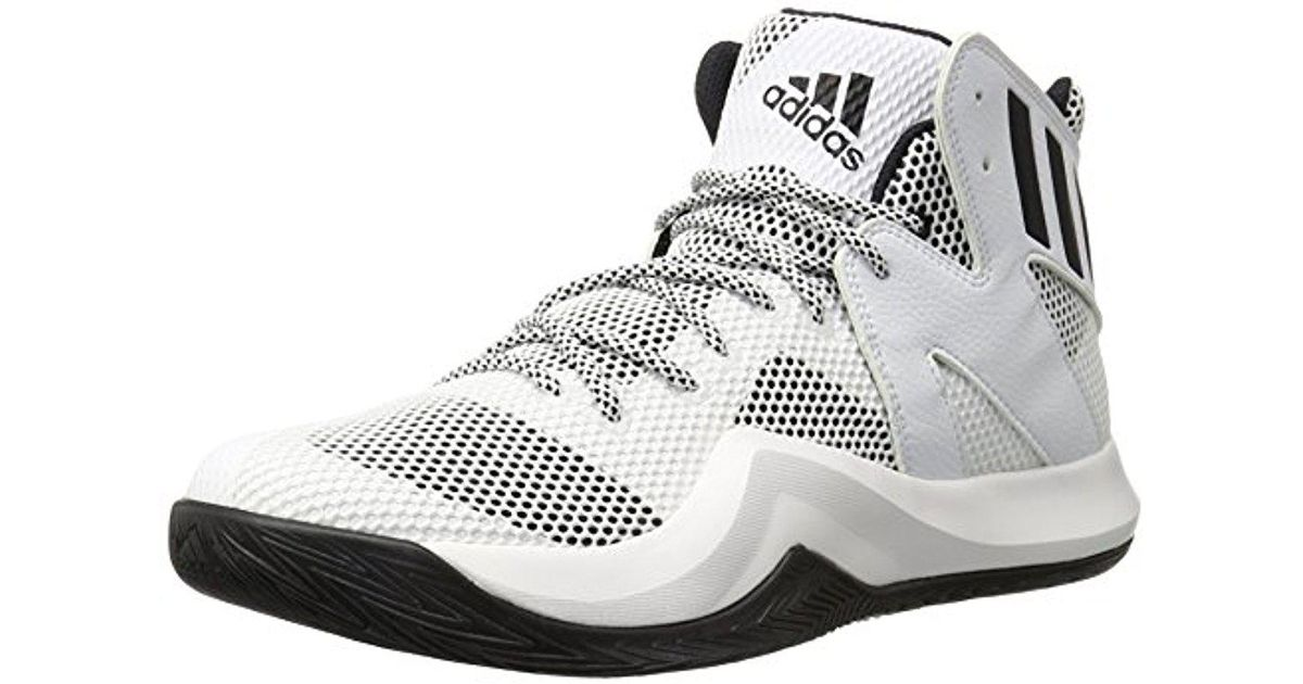 c062dce423e71 Lyst - adidas Performance Crazy Bounce Basketball Shoe in White for Men -  Save 39%