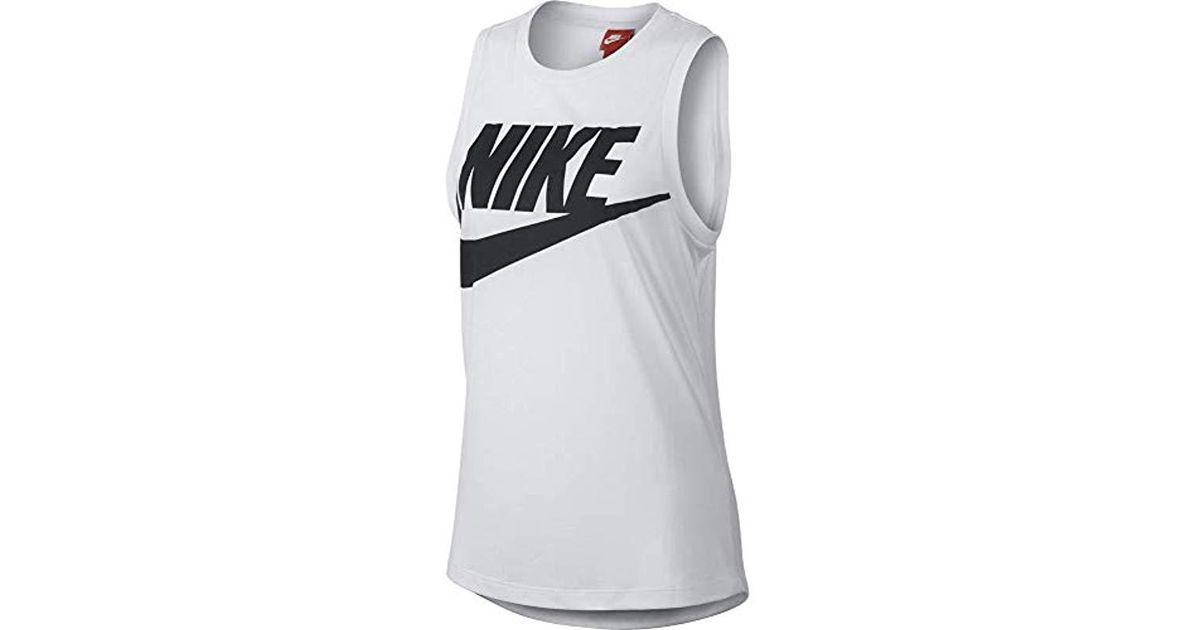 0637892df21b4b Nike Essential Mscl Hbr Tank Top