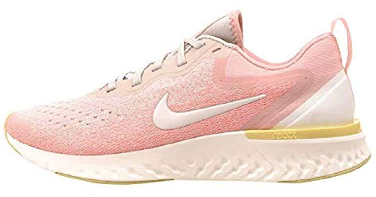 672a0e0199a31 Nike Pink Wmns Odyssey React Competition Running Shoes