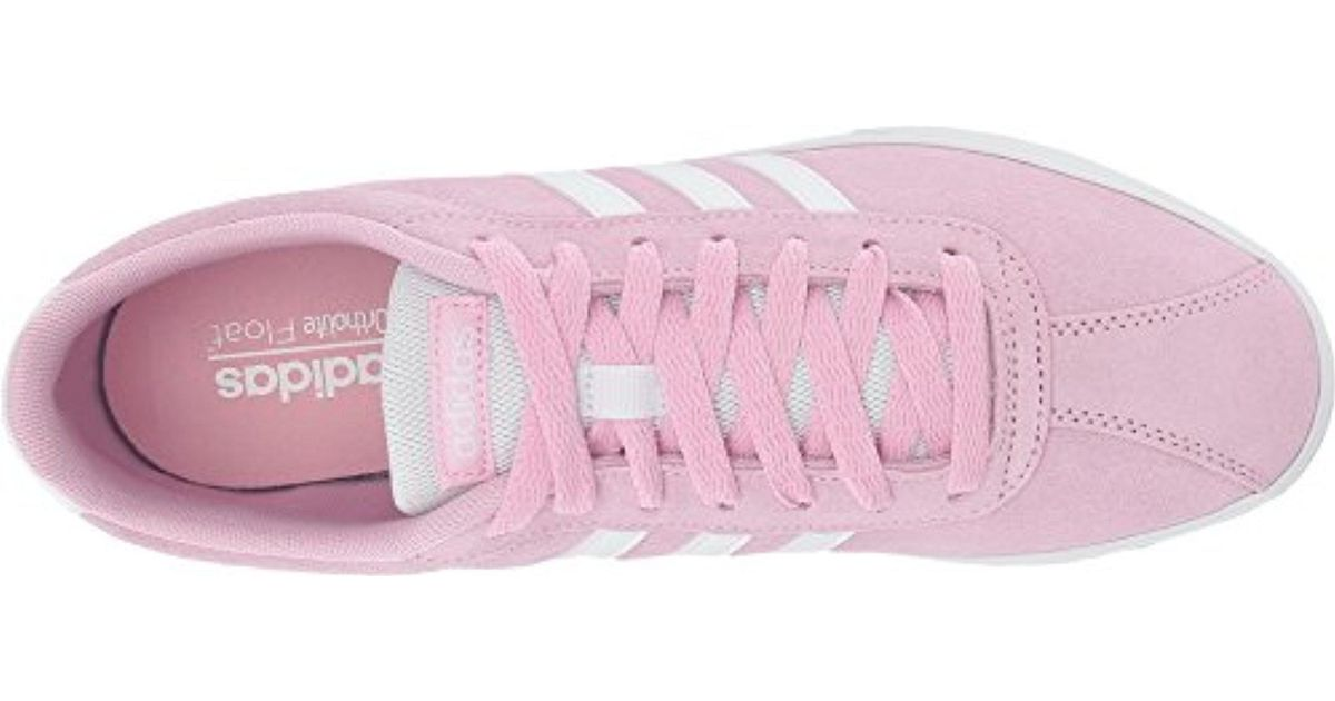 Adidas Pink Courtset Sneakers