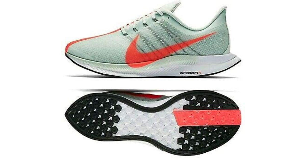 brand new 9ae69 2b2fa Nike Gray Zoom Pegasus 35 Turbo Competition Running Shoes for men