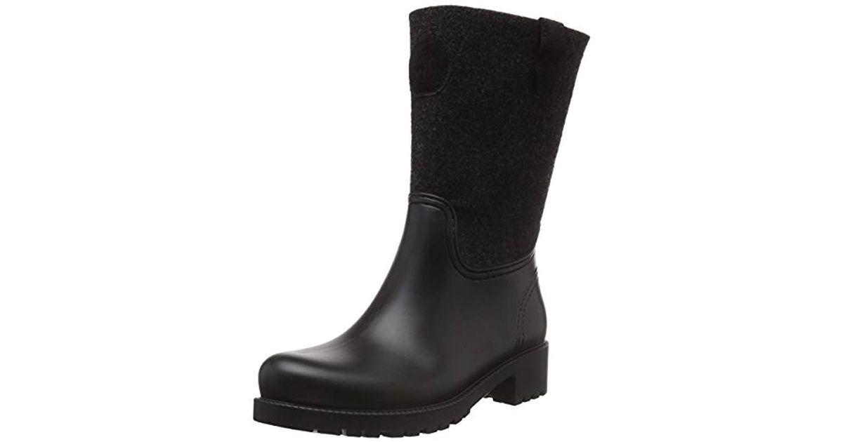 free shipping 5c061 90210 marc-opolo-Black-Schwarz-990-s-60813567701800-Gummistiefel-Ankle-Boots.jpeg