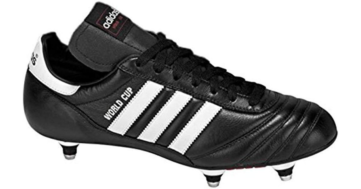 d5b135c54a3 adidas Performance World Cup Soccer Cleat in Black for Men - Lyst