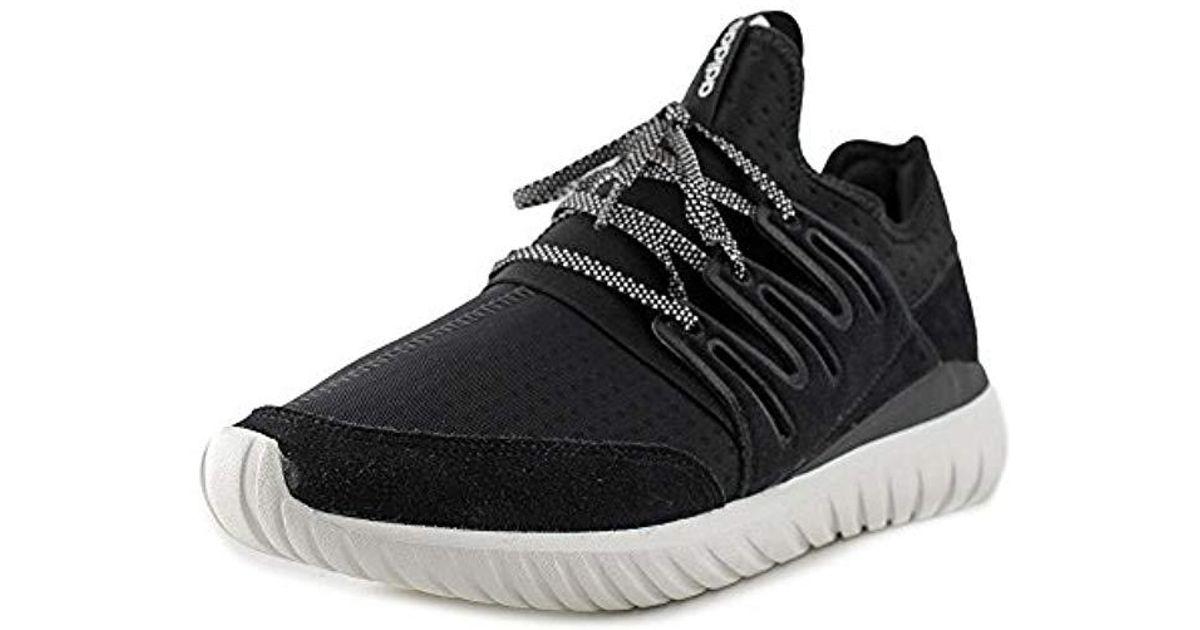 info pour 26098 61257 Adidas Tubular Radial Hommes Us 9 Noir Baskets Black for men