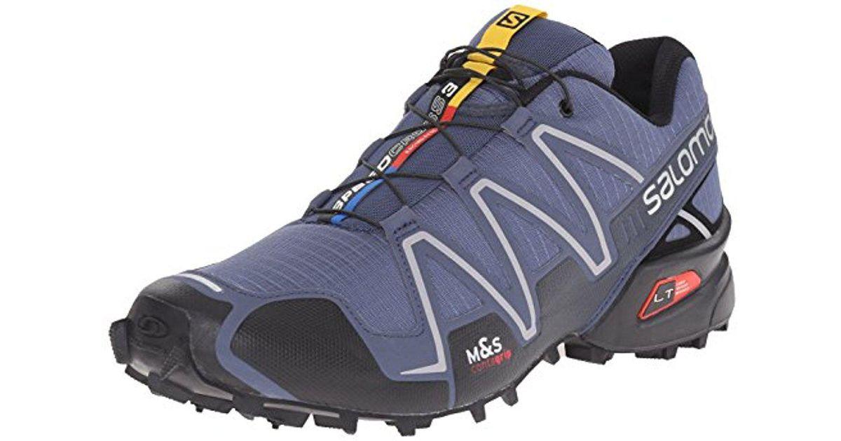 1b51f793666e6 Yves Salomon Blue Speedcross 3 Trail Running Shoe for men