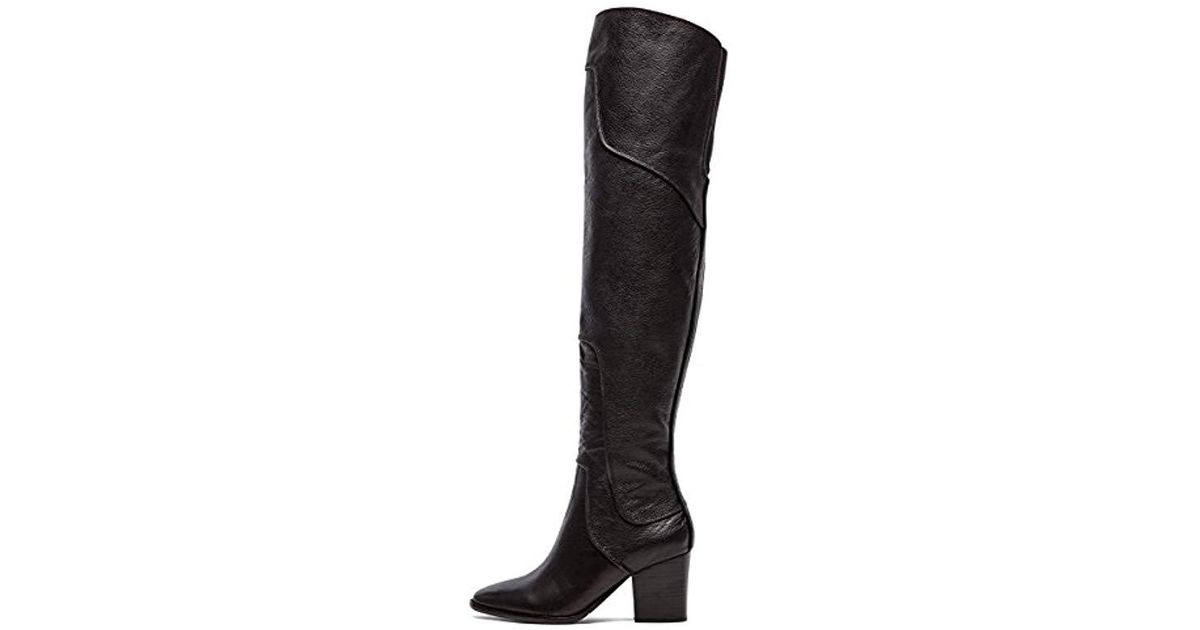 21195decda4 Lyst - Rebecca Minkoff Blessing Over-the-knee Boot in Black