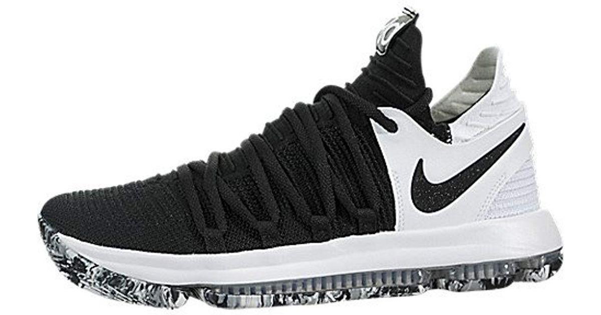 best website 07d96 0ccdb Nike Black Zoom Kd10 Basketball Shoes for men