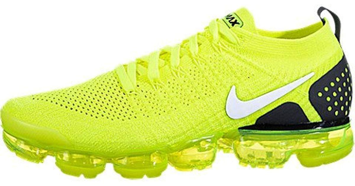 5552b05d1e600 Nike Yellow Women's Air Vapormax Flyknit 2 Running for men