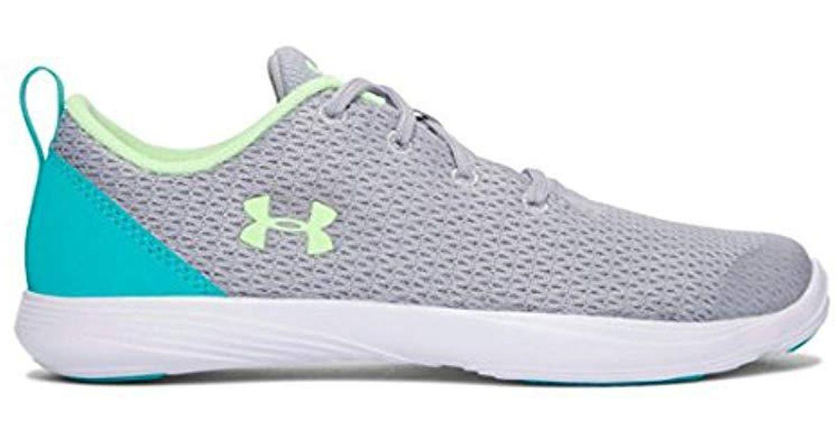2027ae8e11b3 Lyst - Under Armour Girls  Grade School Street Precision Low Running Shoe