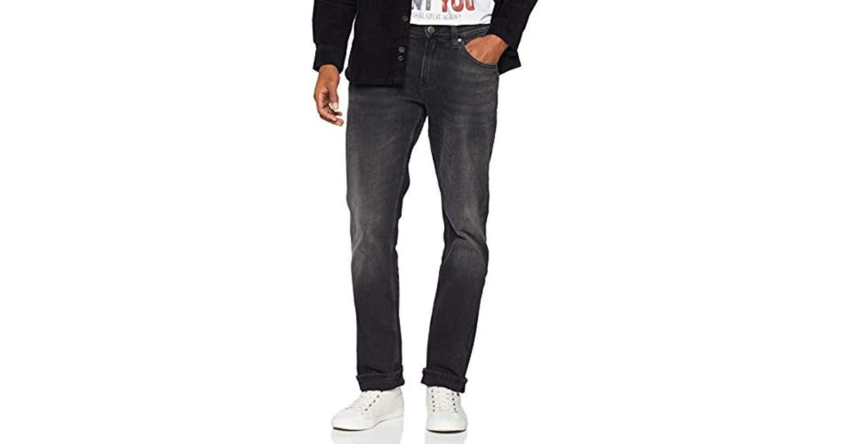 017e0757b Tommy Hilfiger Original Ryan Straight Leg Jeans in Black for Men - Save 57%  - Lyst