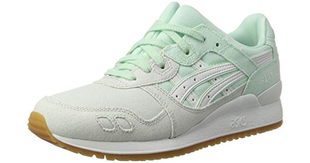 best loved 88c79 0b4ce Asics - Green Gel-lyte Iii Sneakers - Lyst