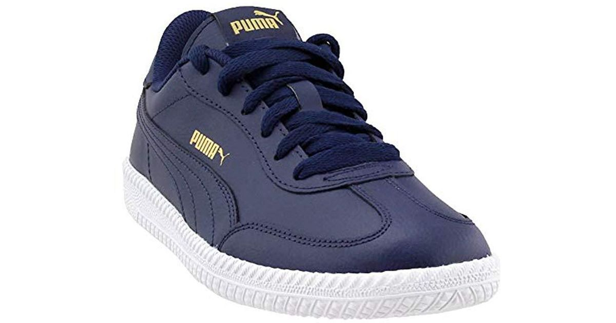 7f98439322 PUMA Blue Astro Cup Leather Sneaker for men