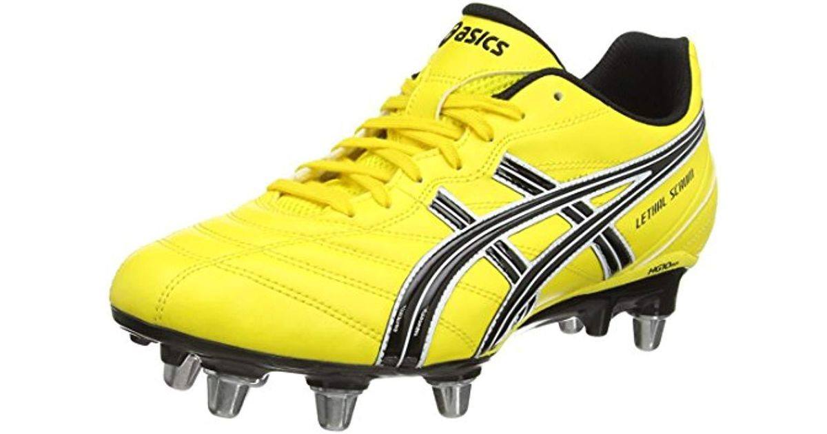 Asics Lethal Scrum Rugby Boots in