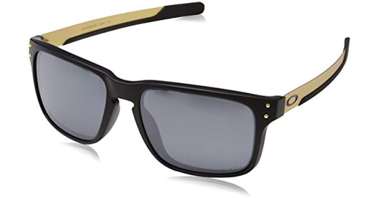 33668dc7697 Oakley Mens Oo9384 57 Holbrook Mix Sunglasses 57mm in Black for Men - Lyst