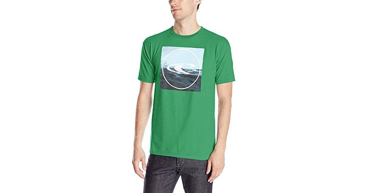 Graysky Mens Lattice Wormhole Print T-Shirts Turn-Down Collar Tee Slim Fit Short Sleeve Shirt Tops