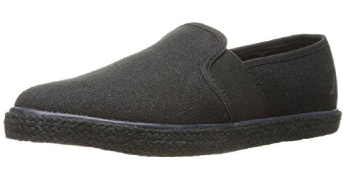 055d22679fc Lyst - Nautica Maynard Slip-on Loafer in Black for Men