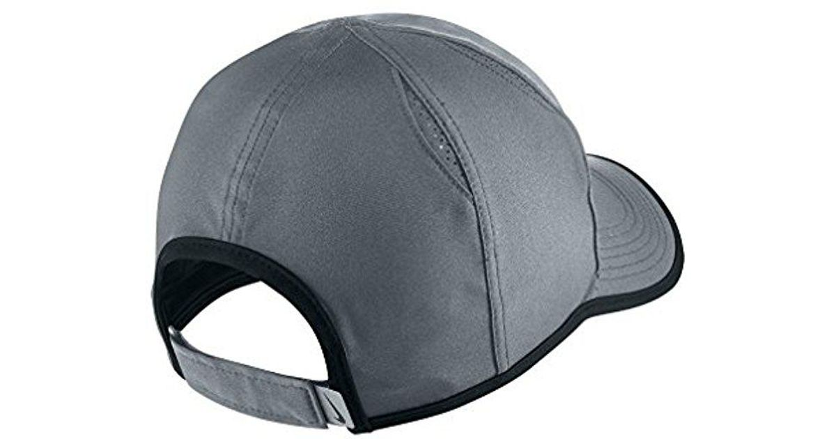 huge selection of 06e84 c0e04 Lyst - Nike Unisex Aerobill Featherlight Cap in Gray for Men