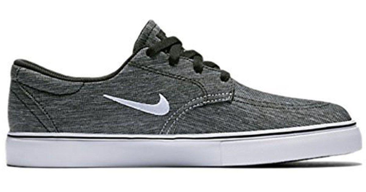 1826cc96902a Lyst - Nike Sb Clutch Skateboarding Shoes in Black