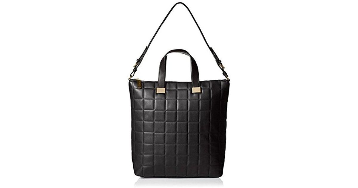 e8640803d34f6 Steve Madden Bree Quilted Tote, Black