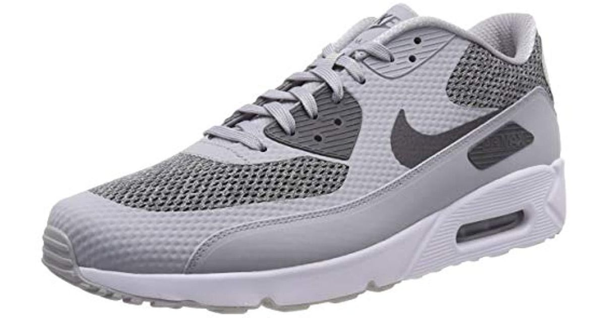 ec20d4445b Nike 's Air Max 90 Ultra 2.0 Essential Sneaker Low Neck in Gray for Men -  Lyst