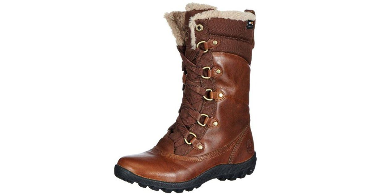 Timberland Brown Mount Hope Mid, Combat Boots