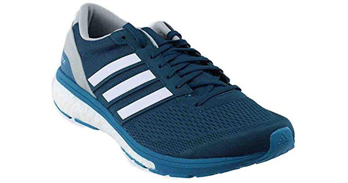 reputable site 08e7b e1887 Lyst - adidas Adizero Boston 6 M Running Shoe in Blue for Me