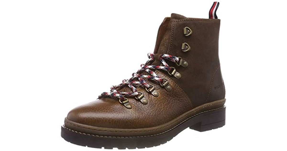 763324f7a1505b Tommy Hilfiger Elevated Outdoor Hiking Boot Combat in Brown for Men - Lyst
