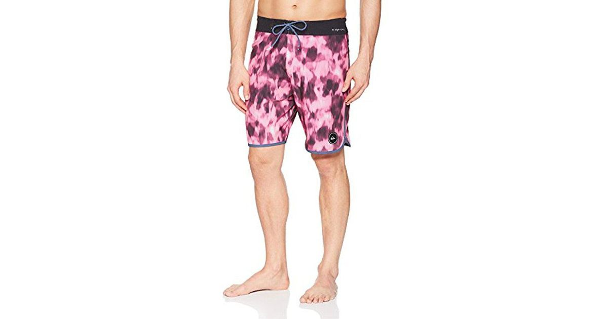 5ad7c95a5e43c Quiksilver Highline Recon 19 Boardshort Swim Trunk in Pink for Men - Save  76% - Lyst