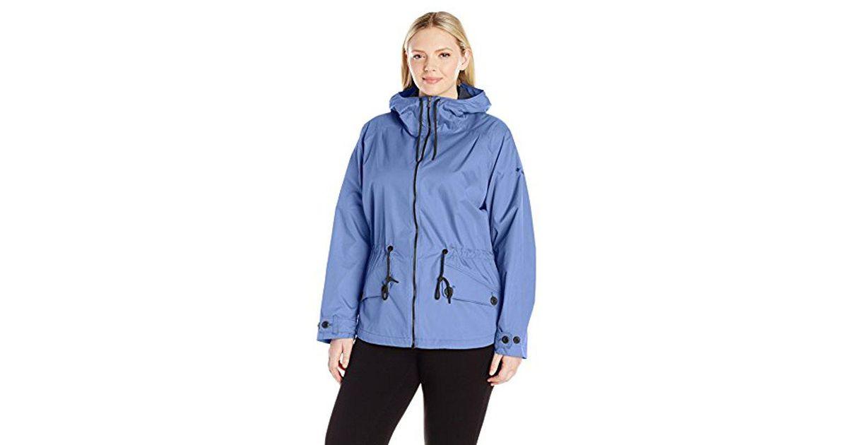 a63679f3e7f86 Lyst - Columbia Plus-size Regretless Jacket in Blue
