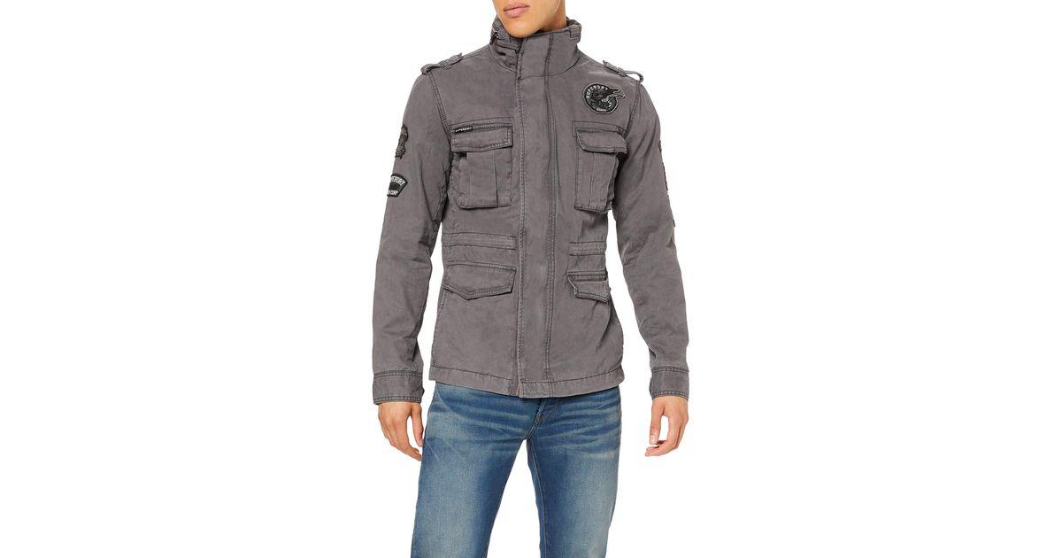 Superdry Hero Rookie Military Jacket Chaqueta para Hombre