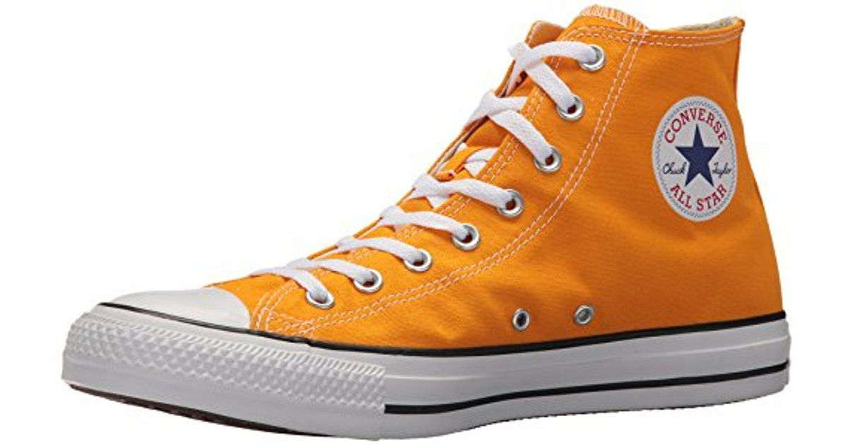 ec093c9a7980 Lyst - Converse Chuck Taylor All Star Seasonal Canvas High Top Sneaker