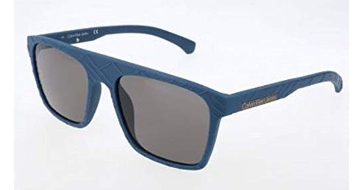 Calvin Klein Jeans Sonnenbrille Ckj798s 405 55 18 140 Sunglasses Blue 55 0 For Men