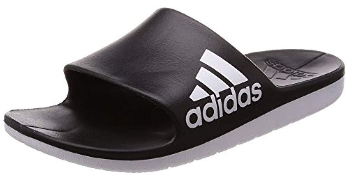 De Color CloudfoamZapatos Black Adidas Piscina Para Hombre Playa Y Aqualette bYfyv76g