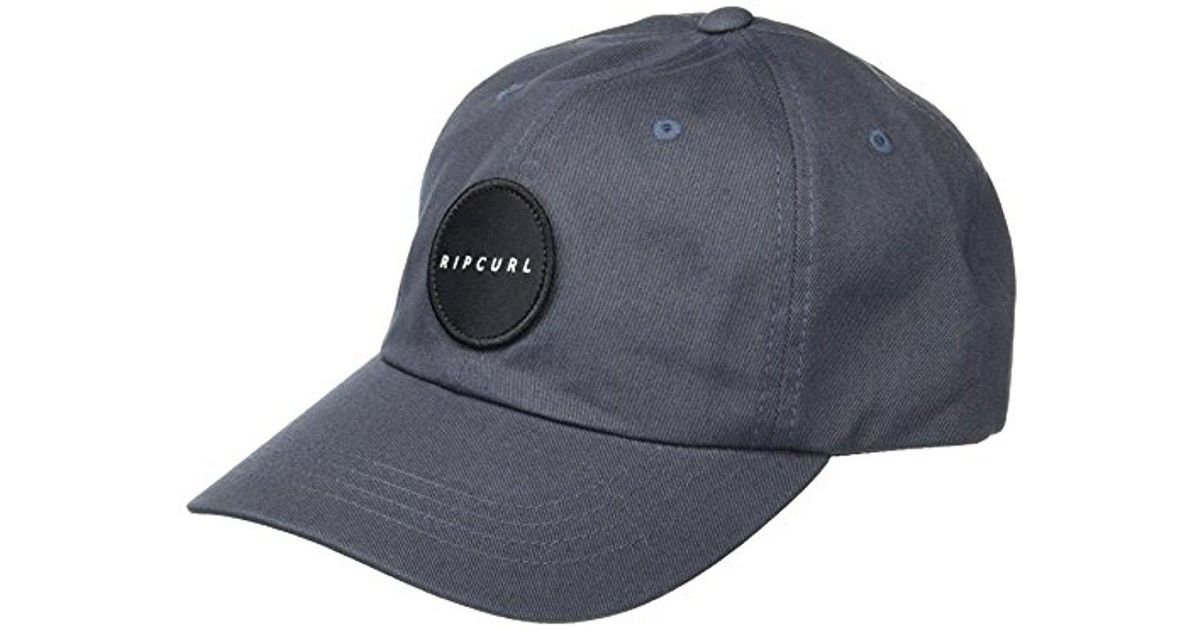 Lyst - Rip Curl Underground Surf Snapback Hat in Gray for Men 331885a0bba