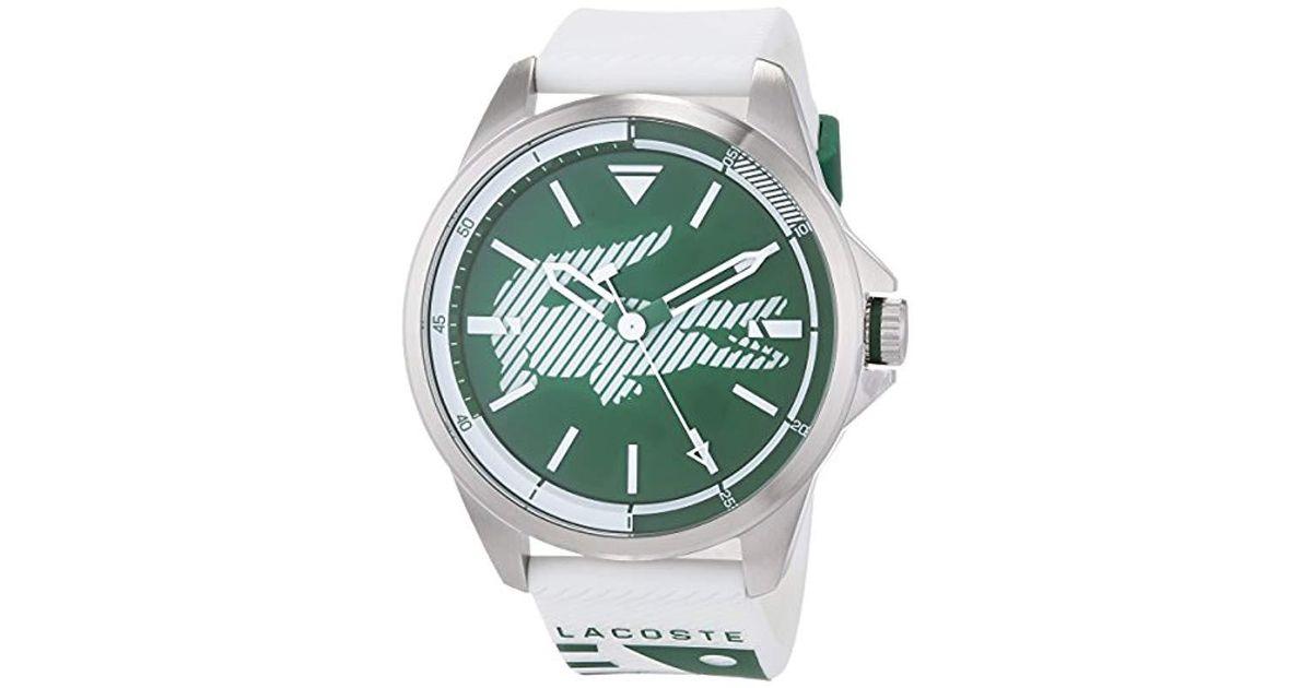 022069fb3631 Reloj Análogo clásico para Hombre de Cuarzo con Correa en Tela 2010913  Lacoste de hombre de color Verde - 69 % de descuento - Lyst