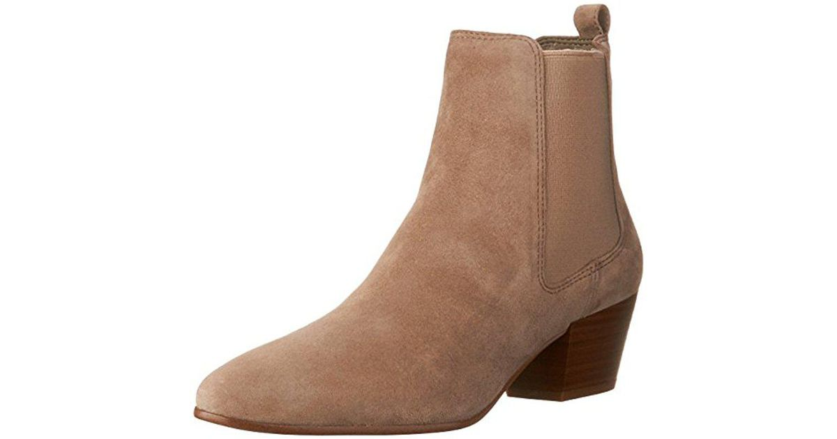8727f995a Lyst - Sam Edelman Reesa Ankle Bootie in Brown - Save 30%