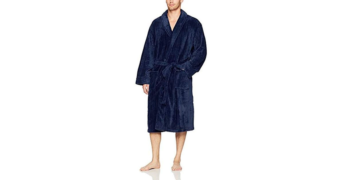 Lyst - Jockey Drop-needle Comfort Soft Robe in Blue for Men - Save  14.705882352941174% 8a253102e
