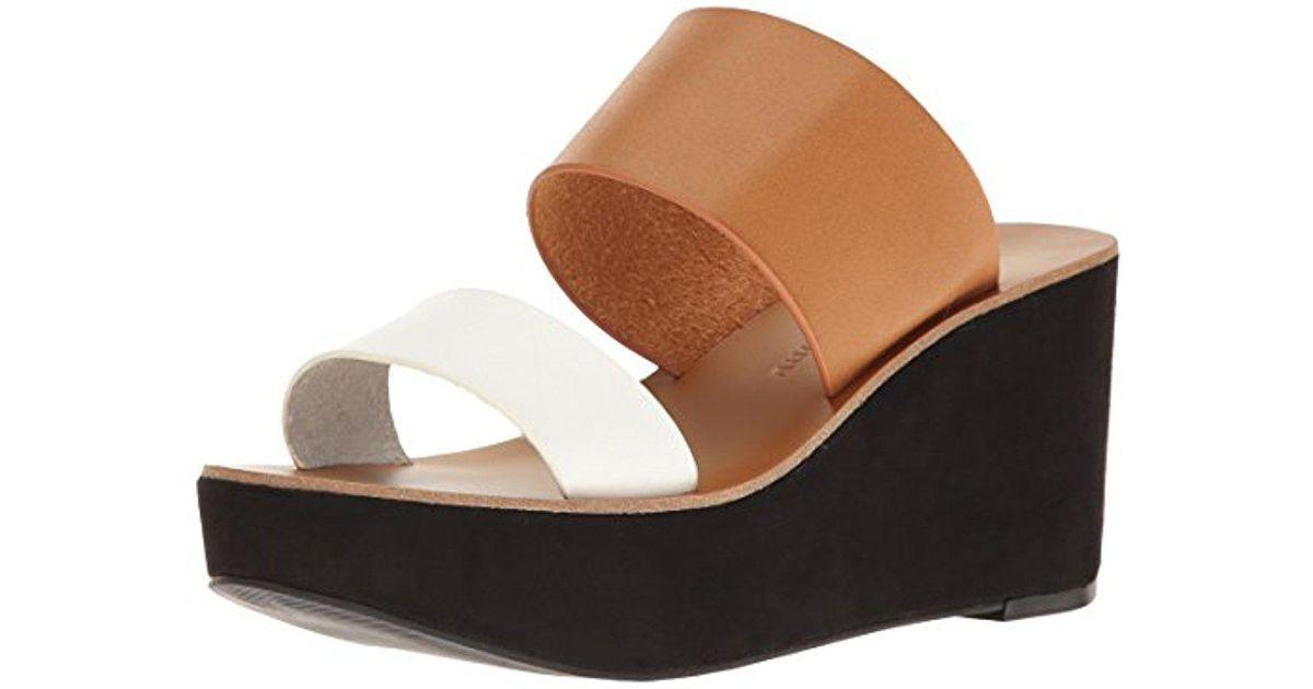 57032eae964 Lyst - Chinese Laundry Ollie Wedge Slide Sandal
