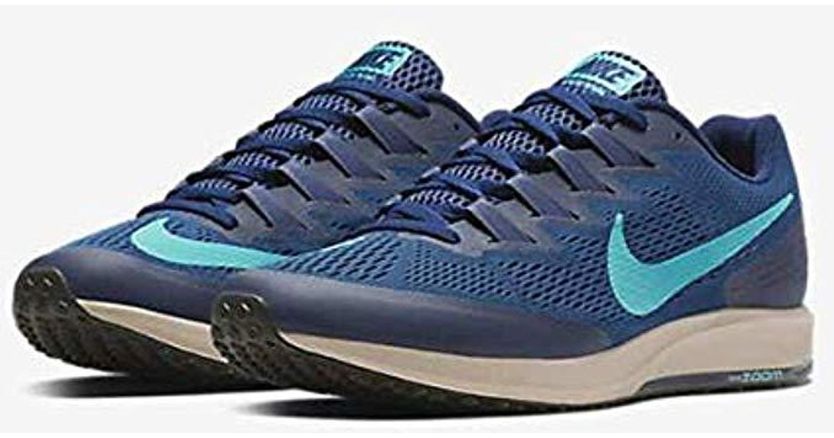 f9f14b1d84d5e Nike Blue Unisex Adults Air Zoom Speed Rival 6 Competition Running Shoes  for men