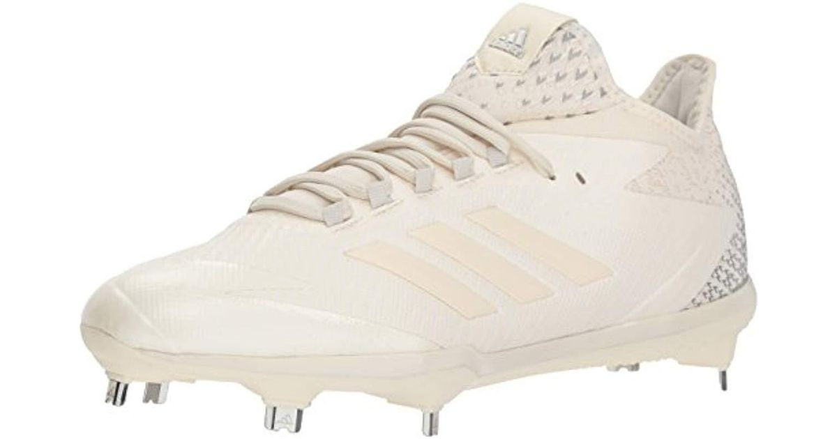 af7ae1285 adidas Adizero Afterburner 4 Baseball Shoe in White for Men - Lyst