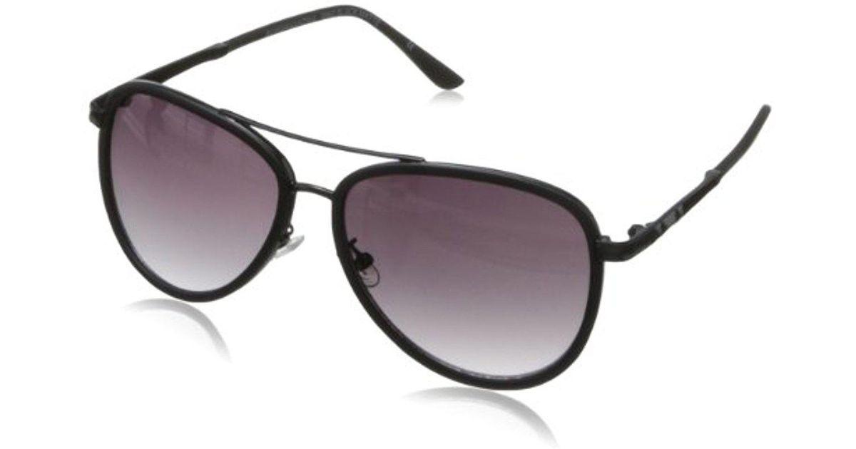 Lyst B862 Bcbgmaxazria Aviator Sunglasses Black zpSVUMqG